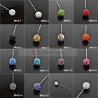 1 Pc Rhinestone Muslim Hijab Pins Islamic Scarf Pins Arab Shawls Pin Pick Color