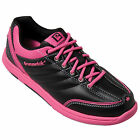 Brunswick Diamond Black/Hot Pink Womens Bowling Shoes