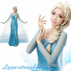 Snow Princess Adult Costume Cosplay Dress Party Fancy Dress