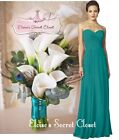 FEARNE Teal Strapless Chiffon Maxi Long Bridesmaid Dress UK Sizes 6 - 18