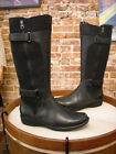 Clarks Whistle Whey Navy Blue Leather & Suede Tall Shaft Boot NEW