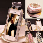Luxury Bling Crystal Diamond Perfume Bottle Handbag Case For iPhone5 5s 6/6Plus