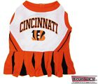 CINCINNATI BENGALS NFL Dog CHEERLEADER Pets Outfit Dress All Sizes XS - M Game