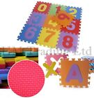 Large 9 Pcs Kids Baby Children Soft Foam Play Floor Mat Set Interlocking Puzzle