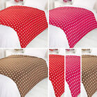 Polka Dot Spot Dotty Large Soft Bedding Bed Sofa Cover Throw Over Fleece Blanket