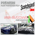 film protection - *3M Scotchgard Hood Bumper Clear Paint Protection Bra Film Vinyl Wrap Decal 12