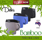 Mens Bamboo Underwear - Distino Men's Boxer Briefs / Trunks / Jocks S M L XL XXL