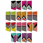HEAD CASE DESIGNS COLOUR BLOCK CHEVRON LEATHER BOOK WALLET CASE FOR APPLE iPAD