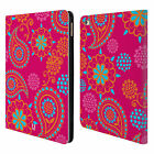 HEAD CASE DESIGNS PSYCHEDELIC PAISLEY LEATHER BOOK WALLET CASE FOR APPLE iPAD