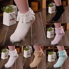 Fashion Women's Princess Girl Vintage Lace Ruffle Frilly Casual Ankle Socks B38
