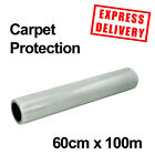 CARPET PROTECTION FILM SELF ADHESIVE PROTECTOR 600MM 25M50M100M ROLLS DECORATING