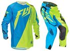 NEW 2016 FLY RACING EVOLUTION 2.0 GEAR COMBO SWITCHBACK BLUE/ HI-VIS ALL SIZE