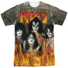 Kiss Through The Fire Sublimation Licensed Adult Shirt S-3XL
