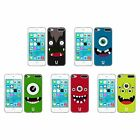 HEAD CASE JOLLY MONSTERS COVER MORBIDA IN GEL PER APPLE iPOD TOUCH 6G 6TH GEN