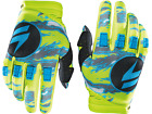 14601-220 Shift Adult Assault Gloves Motorcycle Yellow Camo Race MX ATV Offroad