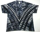 T Shirt Tie Dye, All Sizes,  Acid Wash V, hand crafted in the UK