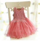 First-rate Toddler Kid Baby Party Princess Skirt Girl Lace Floral TUTU Dress JRA