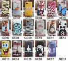 for BQ Aquaris 4.5 Wolf Fish Tiger Rose Cat Tower Butterfly Lion Hard Case Cover