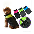 Small Medium Pet Dog puppy Clothes Winter Warm Puffa Vest Jacket Coat Apparel