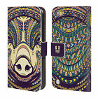 HEAD CASE DESIGNS AZTEC ANIMAL 2 LEATHER BOOK CASE FOR APPLE iPOD TOUCH MP3