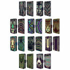AZTEC ANIMAL FACES LEATHER BOOK WALLET CASE FOR BLACKBERRY ASUS ONEPLUS PHONES