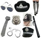 Police Policeman Policewoman WPC Cop Fancy Dress Accessories