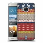 HEAD CASE KNITTED CHRISTMAS SOFT GEL CASE FOR HTC ONE ME