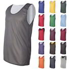 Blank Plain Basketball Mesh Reversible Jersey Badger Pro Tank Top 15 Colors