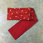 "COTTON Belly Band for Male Boy Dog Waist 14-16"" M MULTIPLE FABRICS for Charity"