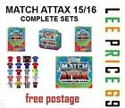 MATCH ATTAX 15/16 FULL SETS. BASE, DUO, AWAY KIT, STAR PLAYER, MOTM, 100 CLUB