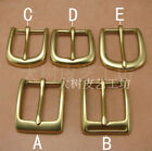 Leather Craft Fitting Inside Width 30mm Brass Belt Bag Buckle Fitting Craft TOOL