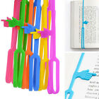 Cool Silicone Finger Pointing Bookmark Book Mark Office Supply Party Favor Funny