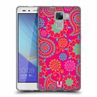 HEAD CASE PSYCHEDELIC PAISLEY SOFT GEL CASE FOR HUAWEI HONOR 7