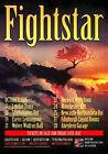 FIGHTSTAR Behind The Devil's Back 2015 Oct UK Tour PHOTO Print POSTER Busted 02