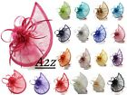 Large Headband  and Clip Hat Fascinator  Weddings Ladies Day Race Royal Ascot