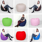 100% Cotton Giant XXL Large Pear Kids Adults Gaming Bean Bag with Filling Chair