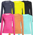 2015 Ladies Under Armour CG Cozy Crew Neck LongSleeve Womens Fitted Sports Shirt