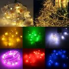 2M 20 LEDs 3AA Battery Operated Mini LED Copper Wire String Fairy Lights XMAS
