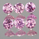1.4mm Lot 6,10,20,50,100pc Round Cut Calibrated Size Stone Natural Pink SAPPHIRE