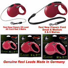 Flexi Dog Lead Cord Tape Small Medium Large Giant 5m 8m 10m Metres retractable