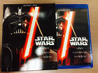 Star Wars Movie Trilogy: Episodes IV-VI (Blu-Ray ONLY) - NO DVDs-- NEVER PLAYED