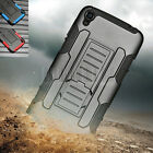 """Armor Shockproof Hybrid Holster Case Cover For Alcatel One Touch idol 3 5.5"""""""