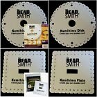 Beadsmith Kumihimo Braiding Disk Plate 6in Large Square Round+Instructions