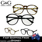Fashion Reading Glasses Men Women Frame Large Nerd Round +1.0~+3.5