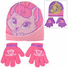 Childrens Palace Pets Accessory Set - Matching Hat & Gloves Girls Pink Purple