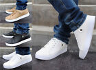 Fashion Men's Breathable Recreational Sports Running Flat Shoes White Casual