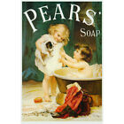 Pears Soap Bath Advertisement Wall Decal Vintage Style Bathroom Decor