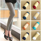 New Womens Lady Sexy Cotton High Waist Stretchy Leggings Skinny Pants Jeggings N