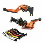 GAP Extendable Folding Brake Clutch levers for Kawasaki ER-6N 09 10 11 12 13 14