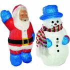 FESTIVE SINGING MUSICAL LED LIGHT UP MOTION ACTIVATED CHRISTMAS FIGURE STATUE
